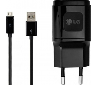 LG MCS-04ED / MCS-04ER Charger + Micro USB Cable - Color Black