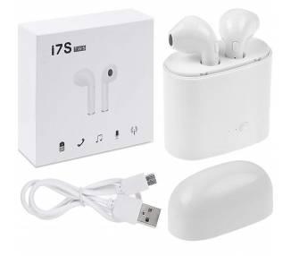 i7WS Wireless Buetooth Earphones | White