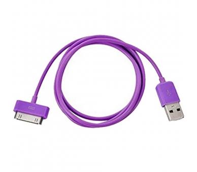 Kabel iPhone 4 / 4S - kolor fioletowy ARREGLATELO - 5