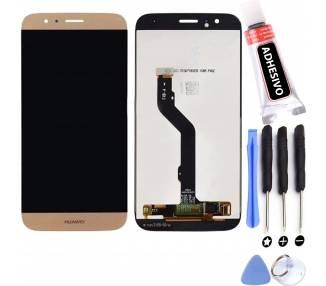 Pantalla Completa para Huawei Ascend G8 & GX8 Dorado Dorada Oro ARREGLATELO - 1