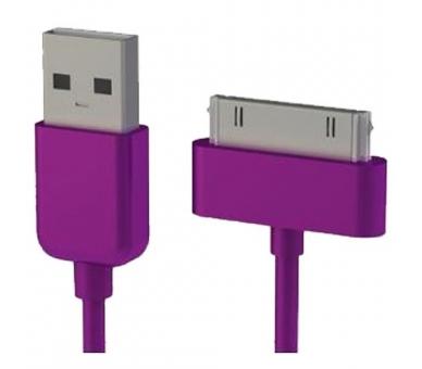 Kabel iPhone 4 / 4S - kolor fioletowy ARREGLATELO - 7