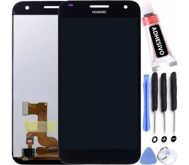 Ekran do Huawei Ascend G7 UL20 L01 HD-B Czarny Czarny ARREGLATELO - 1