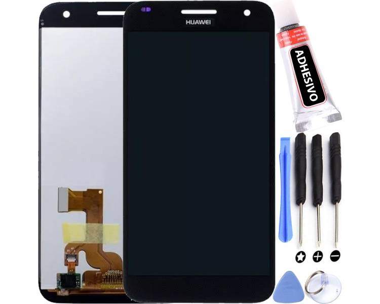 Pantalla para Huawei Ascend G7 UL20 L01 HD-B Negro Negra ARREGLATELO - 1