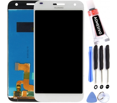 Oryginalny ekran do Huawei Ascend G7 Biały Biały UL20 L01 - HD-C - ARREGLATELO - 1