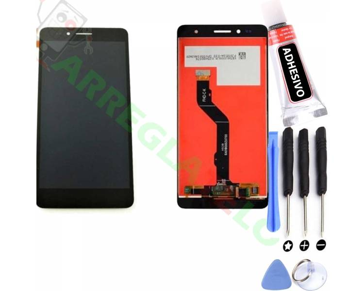 Display For Huawei Honor 5X, Color Black