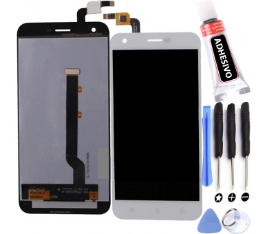 Display For Vodafone Smart Ultra 6, Color White ARREGLATELO - 1
