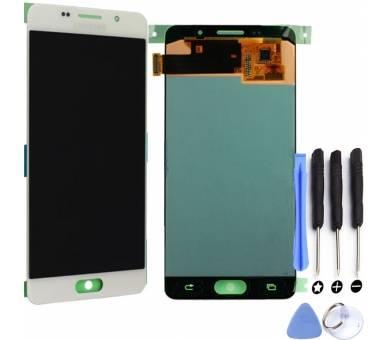 Origineel volledig scherm voor Samsung Galaxy A5 2016 A510F DS Wit Wit Samsung - 1