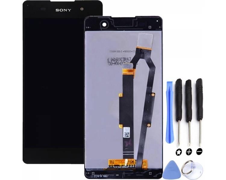 Pełny ekran dla Sony Xperia E5 F3311 F3313 Czarny Czarny