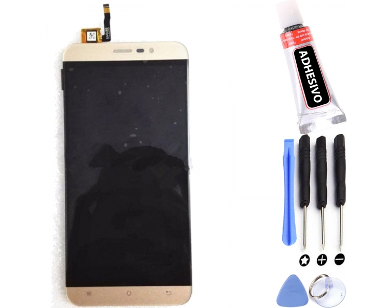 Display For Cubot Note S, Color Gold