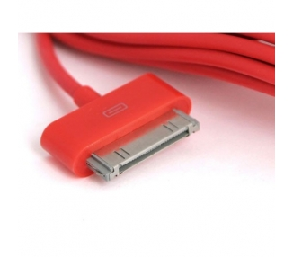 iPhone 4/4S Cable - Red Color ARREGLATELO - 4