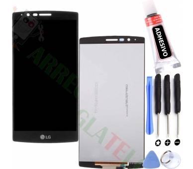 Pełny ekran dla LG G4 H815 H818 Czarny Czarny ARREGLATELO - 1