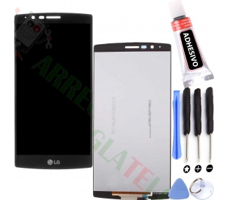 Pełny ekran dla LG G4 H815 H818 Czarny Czarny