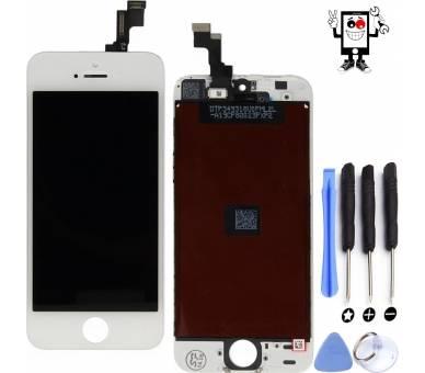 Volledig scherm voor iPhone SE Wit Wit FIX IT - 1