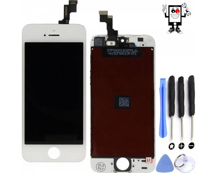Pełny ekran dla iPhone SE White White