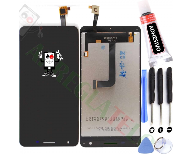 Display For Cubot X15 | Color Black |   ULTRA+ - 1