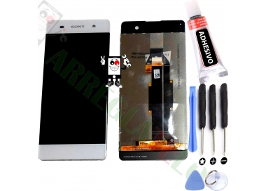 Pantalla Completa para Sony Xperia XA F3111 F3113 F3115 Blanco Blanca ARREGLATELO - 1