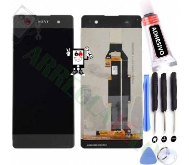 Display For Sony Xperia XA, Color Black ARREGLATELO - 1