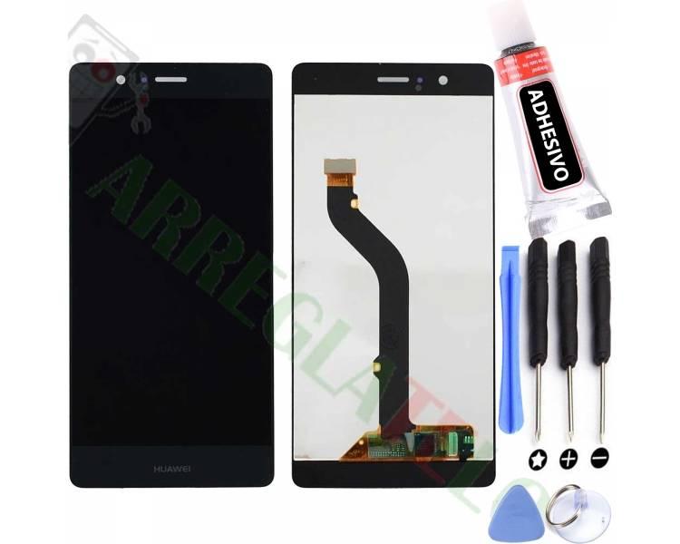 Volledig scherm voor Huawei P9 Lite L21 L31 L22 L23 L53 Zwart Zwart FIX IT - 1