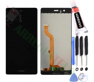 Display For Huawei P9, Color Black