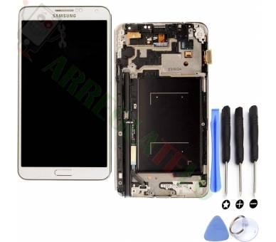 Volledig scherm met frame voor Samsung Galaxy Note 3 Wit Wit FIX IT - 1