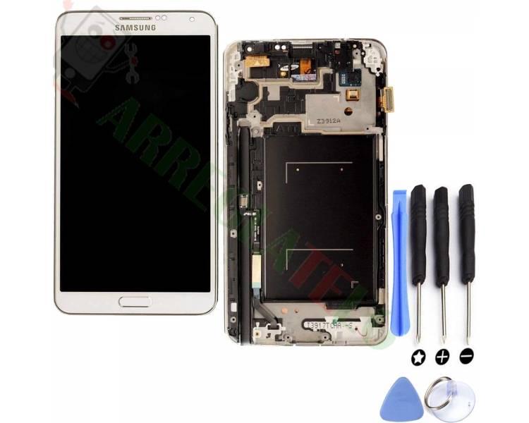 Pantalla Completa con Marco para Samsung Galaxy Note 3 Blanco Blanca ARREGLATELO - 1