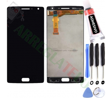 Display For OnePlus Two, Color Black ARREGLATELO - 1