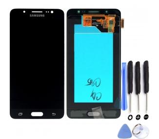 Oryginalny pełny ekran do Samsung Galaxy J5 2016 J510F J510 J510FN Czarny