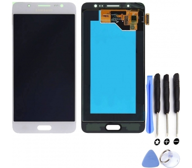 Display For Samsung Galaxy J5 2016, Color White, OLED Samsung - 1