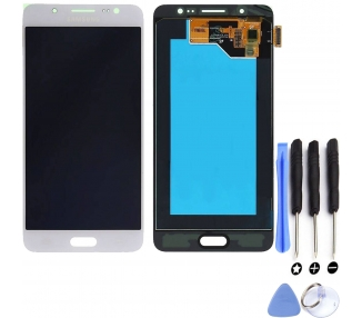 Display For Samsung Galaxy J5 2016, Color White, OLED