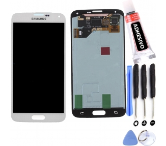 Display For Samsung Galaxy S5, Color White, OLED