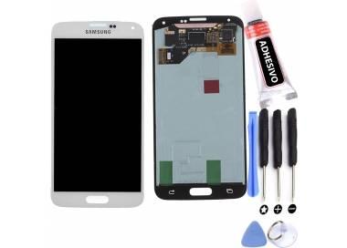 Pantalla Original para Samsung Galaxy S5 G900F i9600 - G900 A T V S5 Plus Blanco Samsung - 1