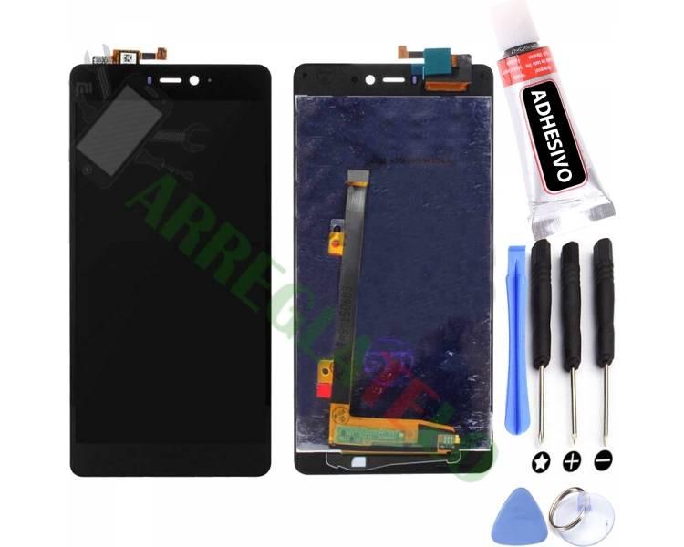 Pantalla Completa para Xiaomi Mi4i Negro Negra ARREGLATELO - 1
