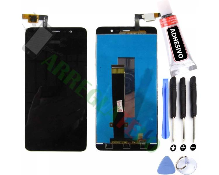 Pantalla Completa para Xiaomi Redmi Note 3 Negro Negra ULTRA+ - 1