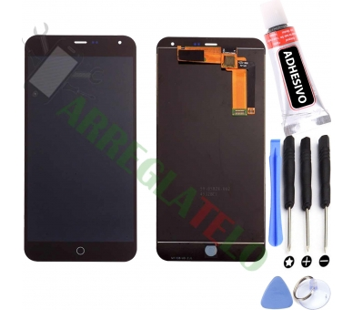 Display For Meizu M1 Note | Color Black | ULTRA+ - 1