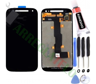 Pełny ekran dla Motorola Moto E2 XT1524 XT1527 Czarny Czarny