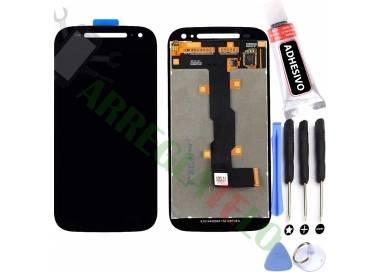 Pantalla Completa para Motorola Moto E2 XT1524 XT1527 Negro Negra ARREGLATELO - 1