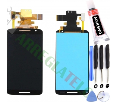 Display For Motorola Moto X Play | Color Black |   ULTRA+ - 1