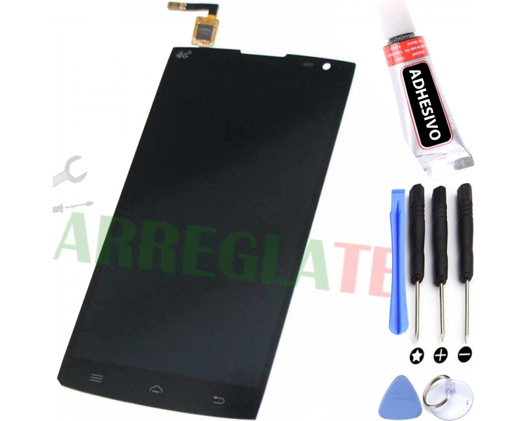 Display For Alcatel M812F | Color Black |   ULTRA+ - 1