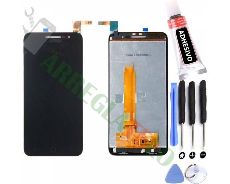 Pantalla Completa para Vodafone Smart Prime 6 VF895N Negro Negra ARREGLATELO - 1