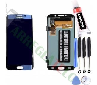 Pantalla Completa para Samsung Galaxy S6 Edge G925F Azul ARREGLATELO - 1