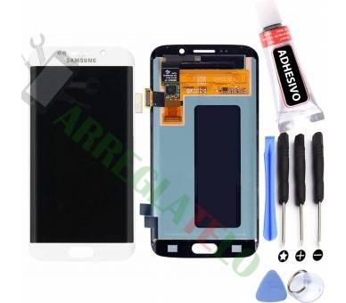 Origineel volledig scherm voor Samsung Galaxy S6 Edge G925 G925F Wit Wit Samsung - 1