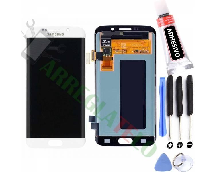 Schermo intero originale per Samsung Galaxy S6 Edge G925 G925F bianco bianco Samsung - 1