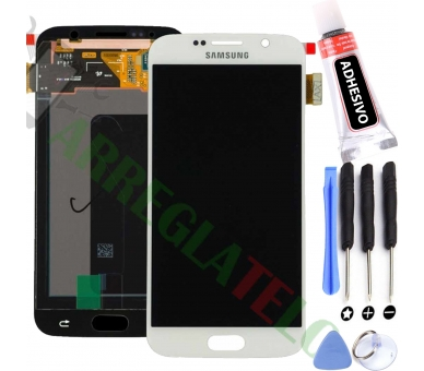 Display For Samsung Galaxy S6 | Color White | OLED ULTRA+ - 1