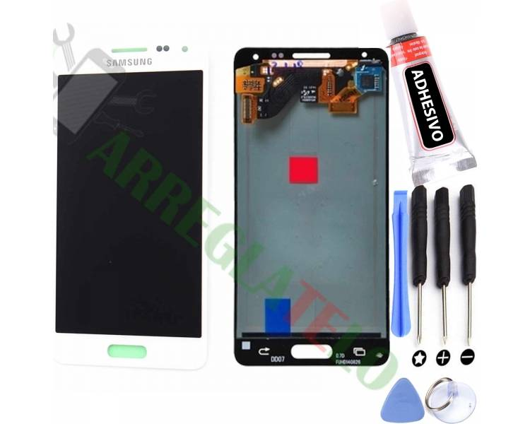 Pantalla Completa Original para Samsung Galaxy Alpha G850F Blanco Blanca Samsung - 1