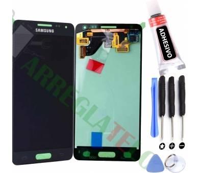 Origineel volledig scherm voor Samsung Galaxy Alpha G850F Zwart Zwart Samsung - 1