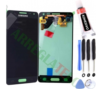 Display For Samsung Galaxy Alpha, Color Blue, OLED