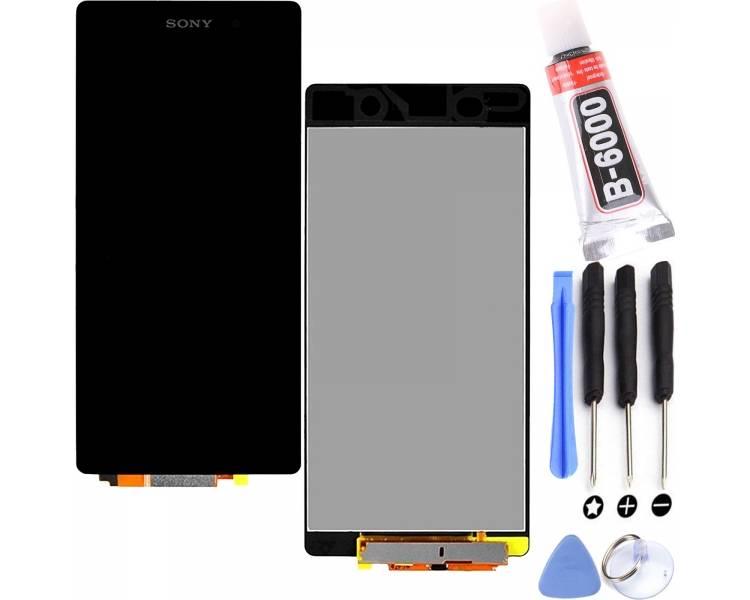 Pantalla Completa para Sony Xperia Z2 D6502 D6503 D6543 L50W Negro Negra ULTRA+ - 1