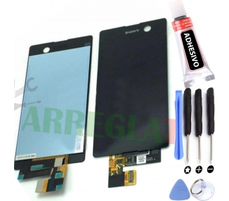 Display For Sony Xperia M5, Color Black