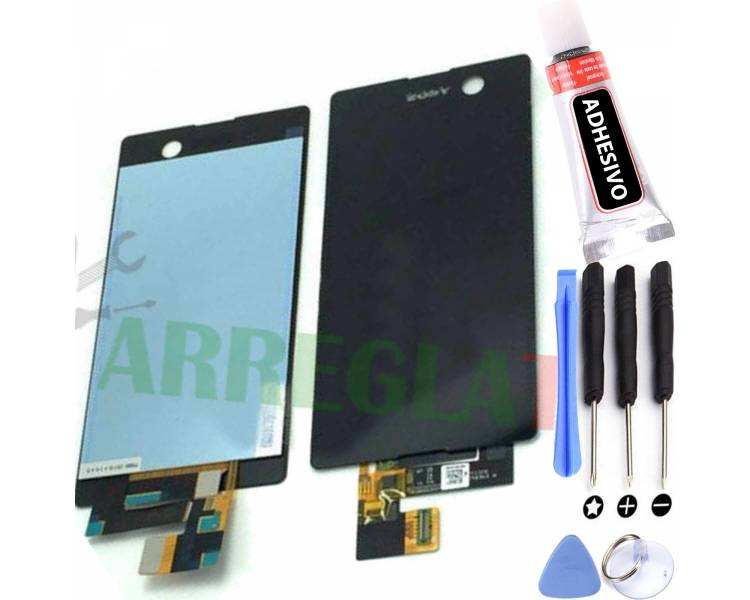 Pantalla Completa para Sony Xperia M5 E5603 E5606 E5653 Negro Negra ARREGLATELO - 1