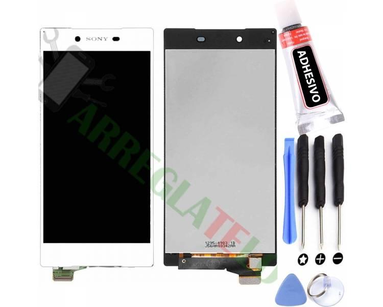 Pełny ekran dla Sony Xperia Z5 E6603 E6633 E6653 Biały Biały